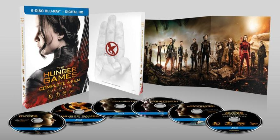 The Hunger Games Full Collection. Image credit: Lionsgate Films