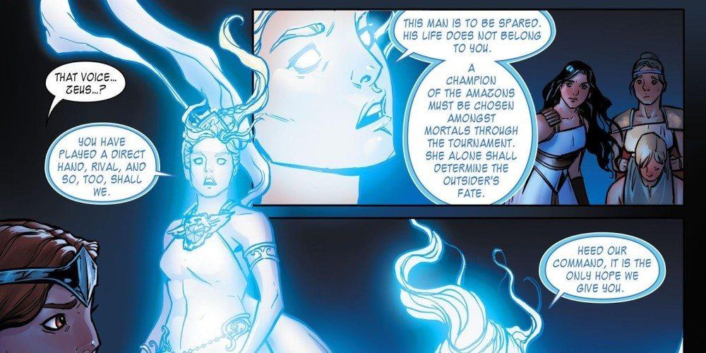 Renae De Liz, Wonder Woman