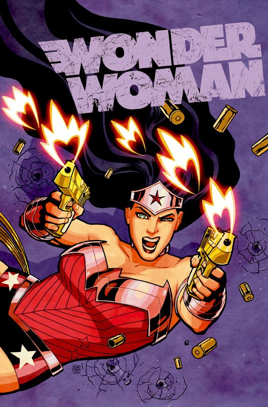 One of the fabulous Cliff Chiang covers for Wonder Woman, copyright DC Comcis