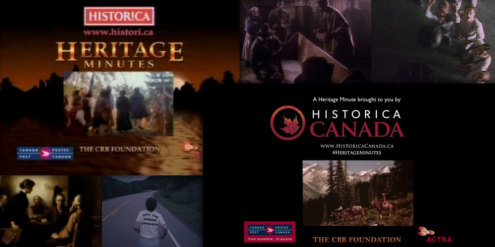 Canadian Heritage Minutes Turns 25