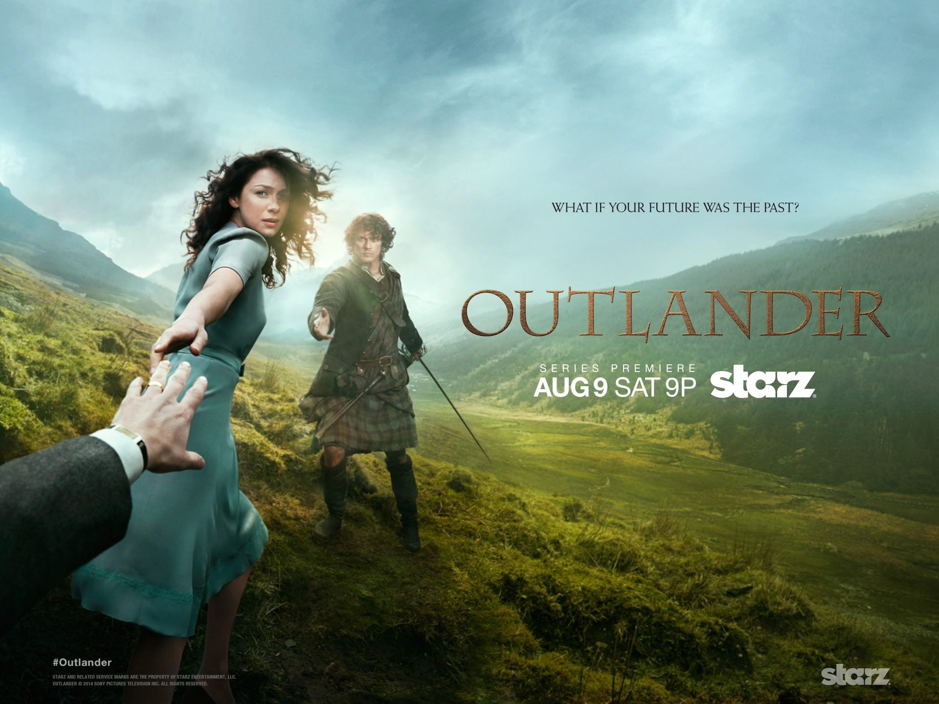 Binge Watch 'Outlander' Before April 9th
