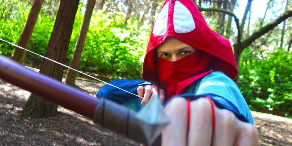 Completed Cosplay: Ashitaka From 'Princess Mononoke'