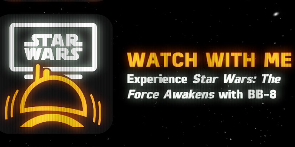 BB-8 Watch With Me, Image: Sphero App