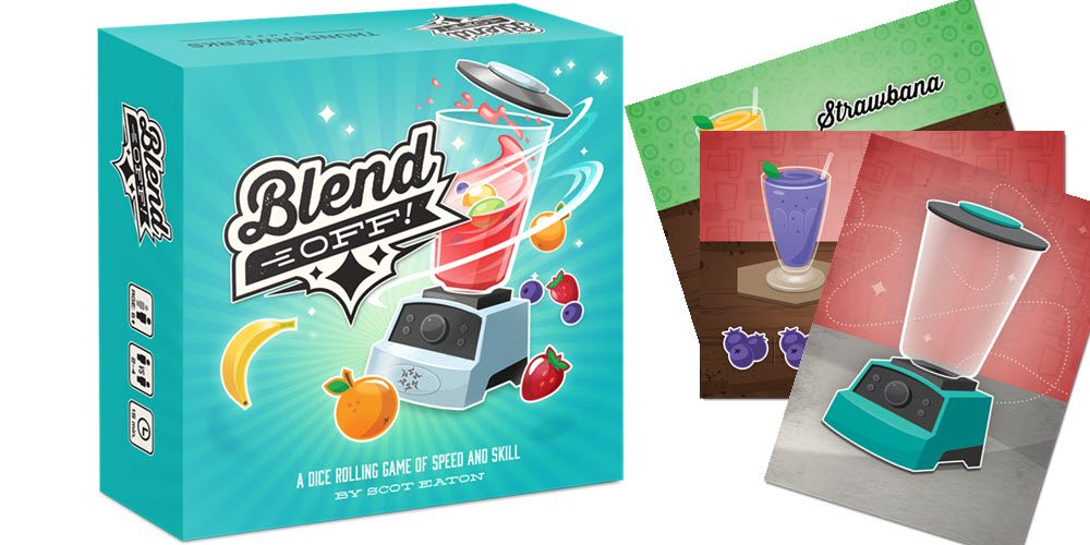 Kickstarter Tabletop Alert: 'Blend Off!'