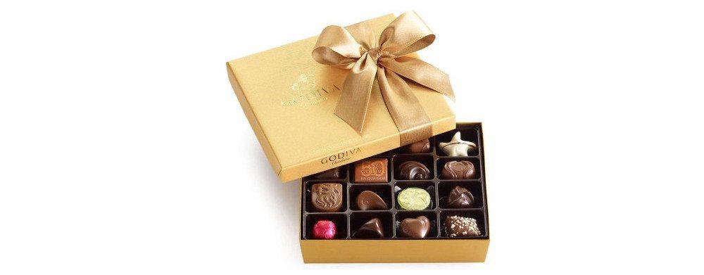 Godiva's assorted chocolates. Image: Godiva