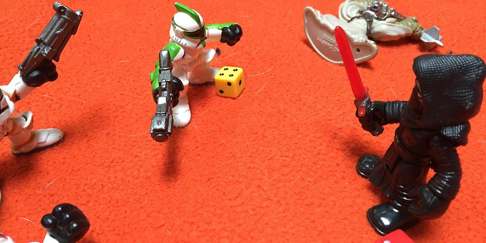A Homemade 'Star Wars' RPG for My Toddler