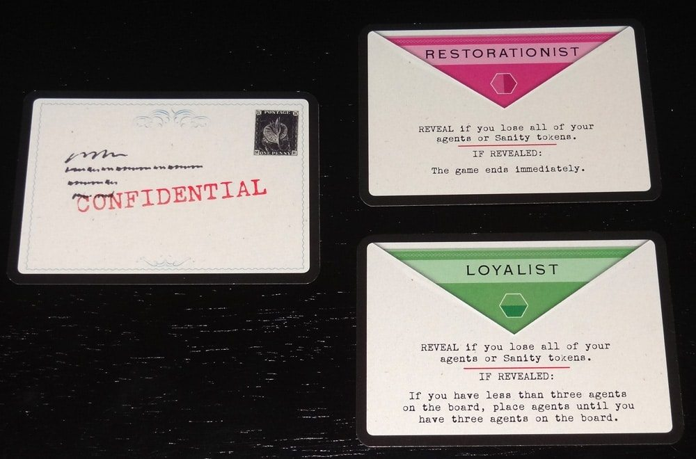 A Study in Emerald loyalty cards