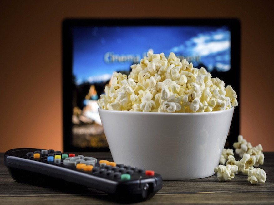 Popcorn and Good-Bad Movie - Nothing Better! Photo copyright: niolox