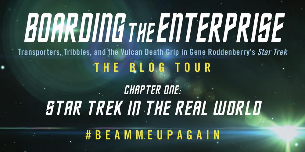 Blog Tour and Giveaway: 'Boarding the Enterprise'