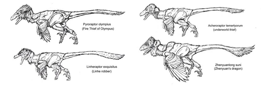 Beasts of the Mesozoic BW