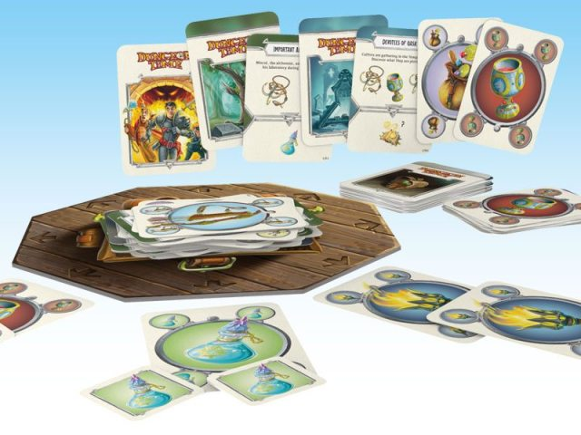 Dungeon Time components
