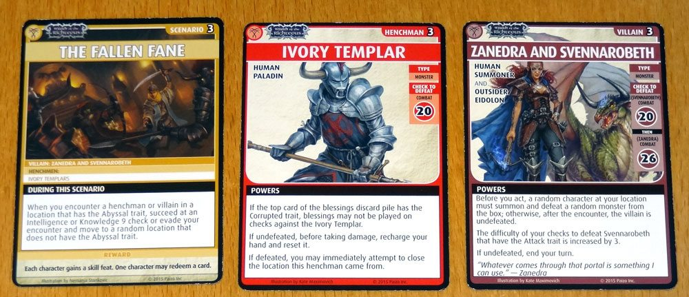 PACG Wrath of the Righteous' Deck 3: Demon's Heresy - GeekDad