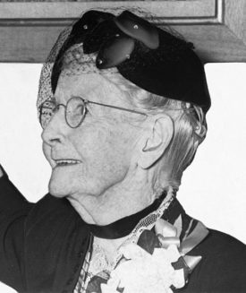 Grandma Moses. Image: Library of Congress. Public Domain.