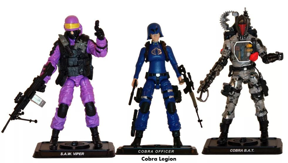 GI Joe Line Up