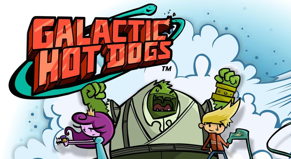 'Galactic Hot Dogs' a Summer Reading and Gaming Treat