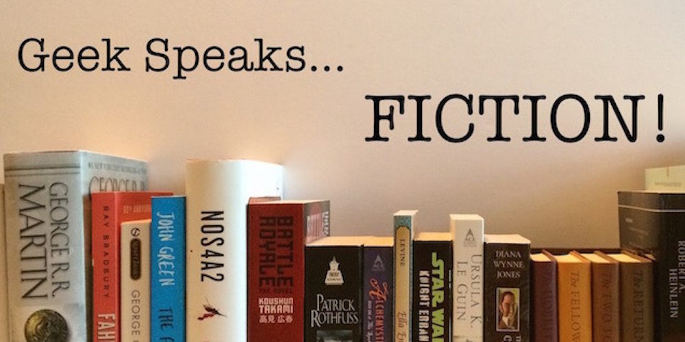 Geek speaks fiction banner