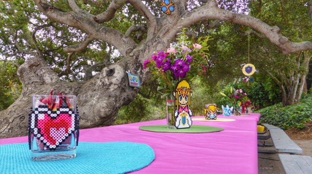 Perler bead for Zelda-themed decor. Image credit: Ariane Coffin.