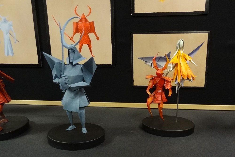 Kubo origami puppets