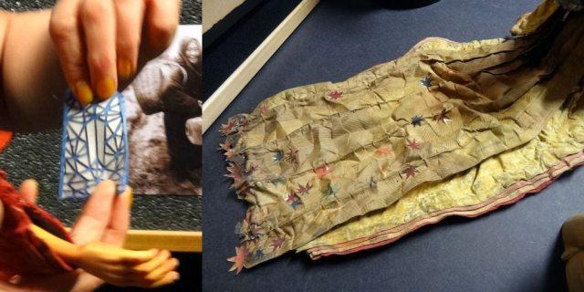 Kubo - fabric folds