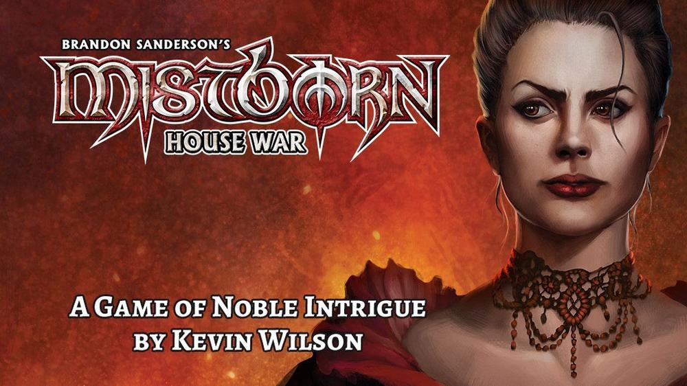 Kickstarter Tabletop Alert: 'Mistborn: House War'