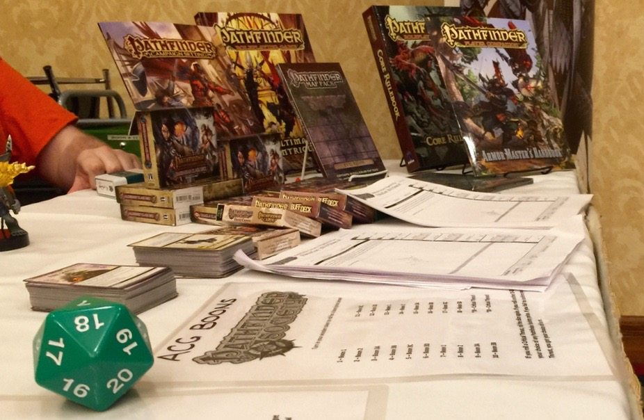 PaizoCon 2016 Loot Table