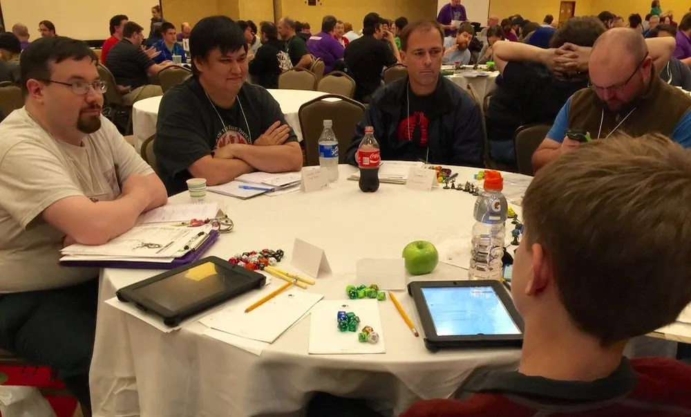 PaizoCon 2016 PFS Table