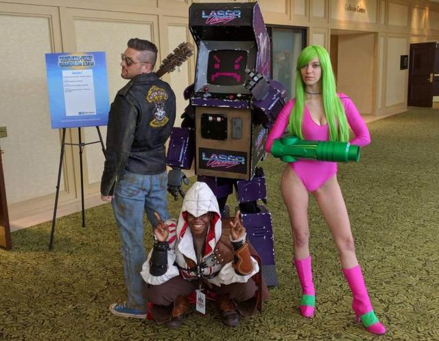 Cosplayers at the Southern-Fried Gameroom Expo. Photo credit: Will James