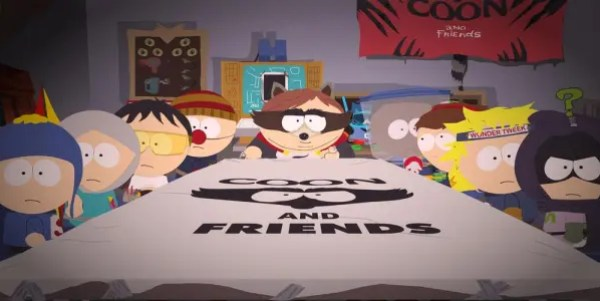 Coon and friends plan the defense of South park