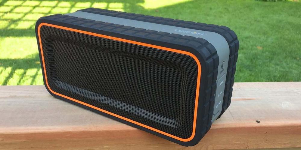 Turcom rugged Bluetooth speaker