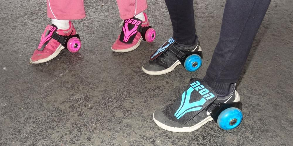 Wheels on the Go: Yvolution Neon Street Rollers