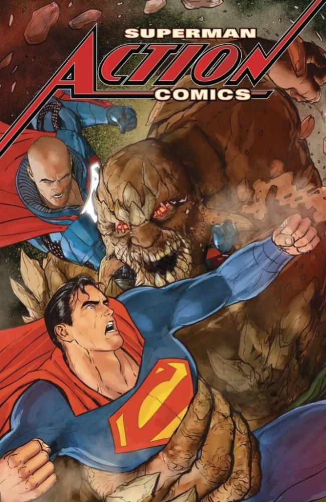 Action Comics #, cover, copyright DC Comics