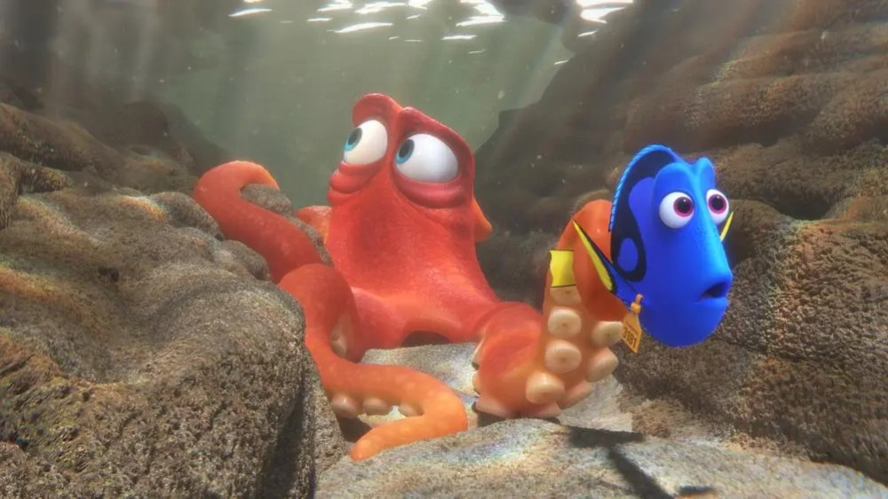 FINDING DORY - Hank and Dory
