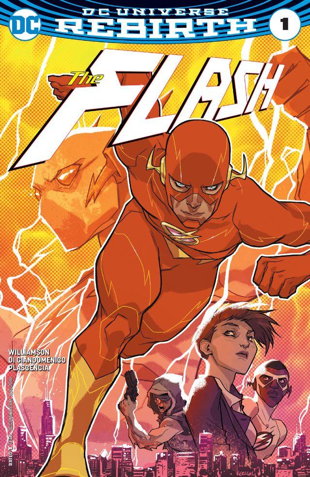Flash #1 cover, copyright DC Comics