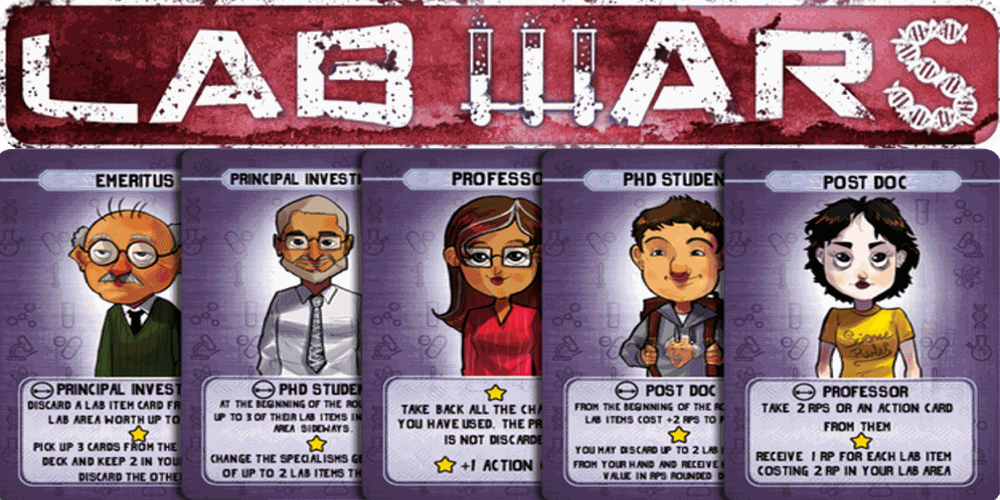 Kickstarter Alert: 'Lab Wars' Brings Science and Sabotage
