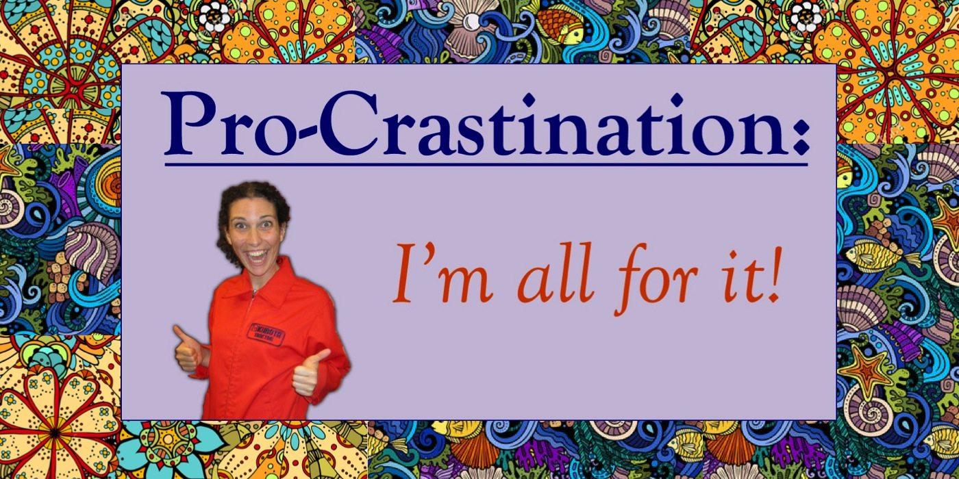 procrastination zen