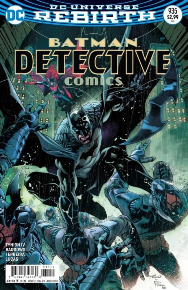 cover to Detective Comics #958, copyright DC Comics