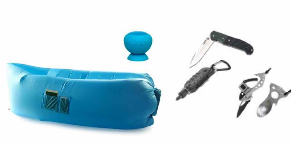 Daily Deals: Inflatable Cloud Loungers and Kershaw Knives