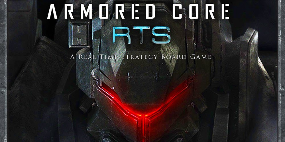 Kickstarter Tabletop Alert: 'Armored Core RTS'