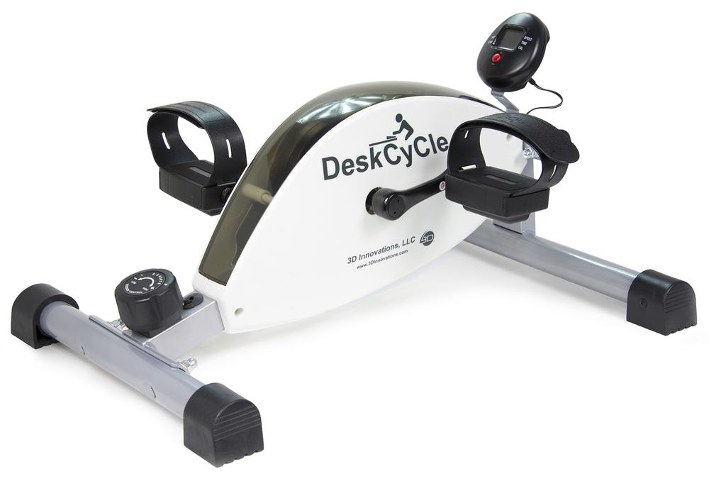 Pedal the Day Away With DeskCycle
