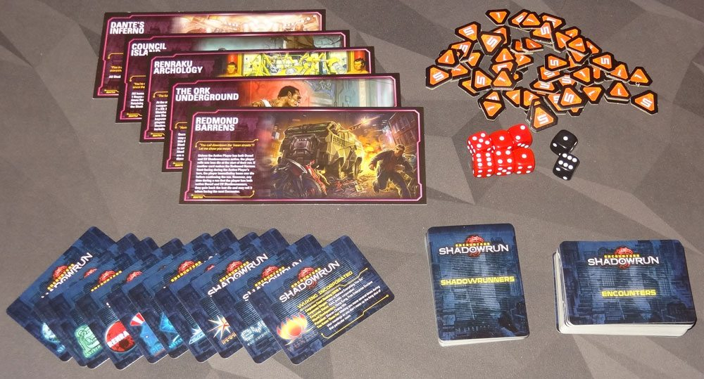 Encounters: Shadowrun components
