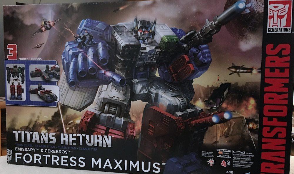 Fortress Maximus Box
