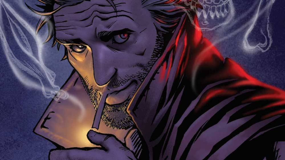 The Hellblazer: Rebirth #1 cover, image via DC Comics