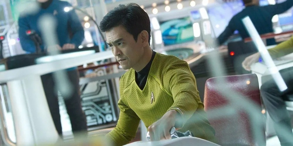 John Cho as Sulu in Star Trek. Image: Paramount Pictures