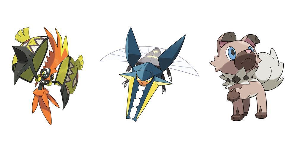 Nine New Alola Region Pokémon Revealed