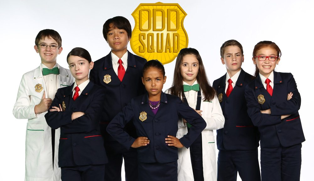Cast members from Odd Squad season one and two