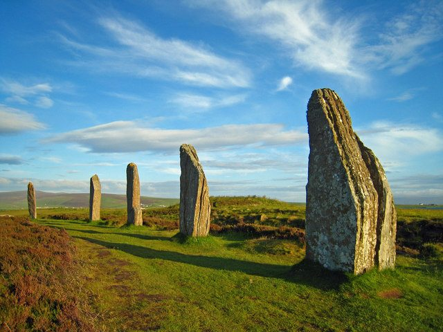 Orkney, Stenness - The Ring o' Brodgar by Martyn Gorman (CC BY-SA 2.0)