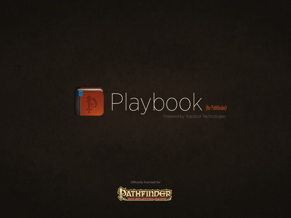 Playbook Title Screen