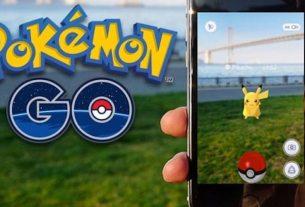 Pokémon GO with augmented reality Pokémon GO with augmented reality