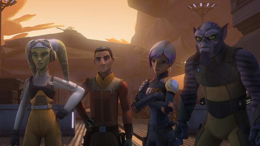 A Legend Comes to 'Star Wars Rebels'