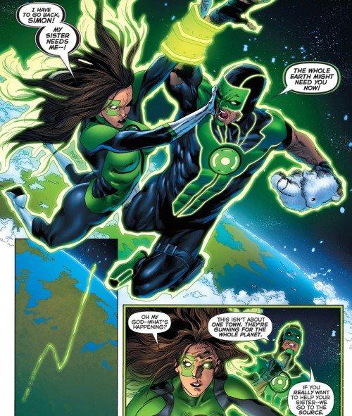 Simon and Jessica, not quite a team yet. Image via DC Comics